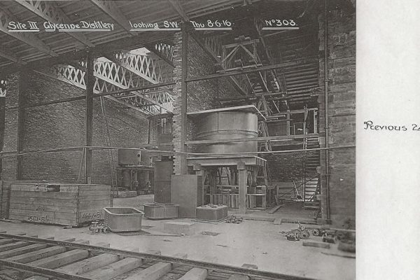 303 - Site III Glycerine Distillery looking SW