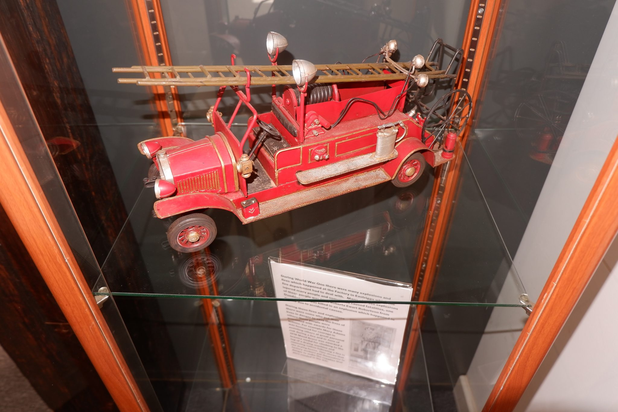 hm factory gretna fire engine