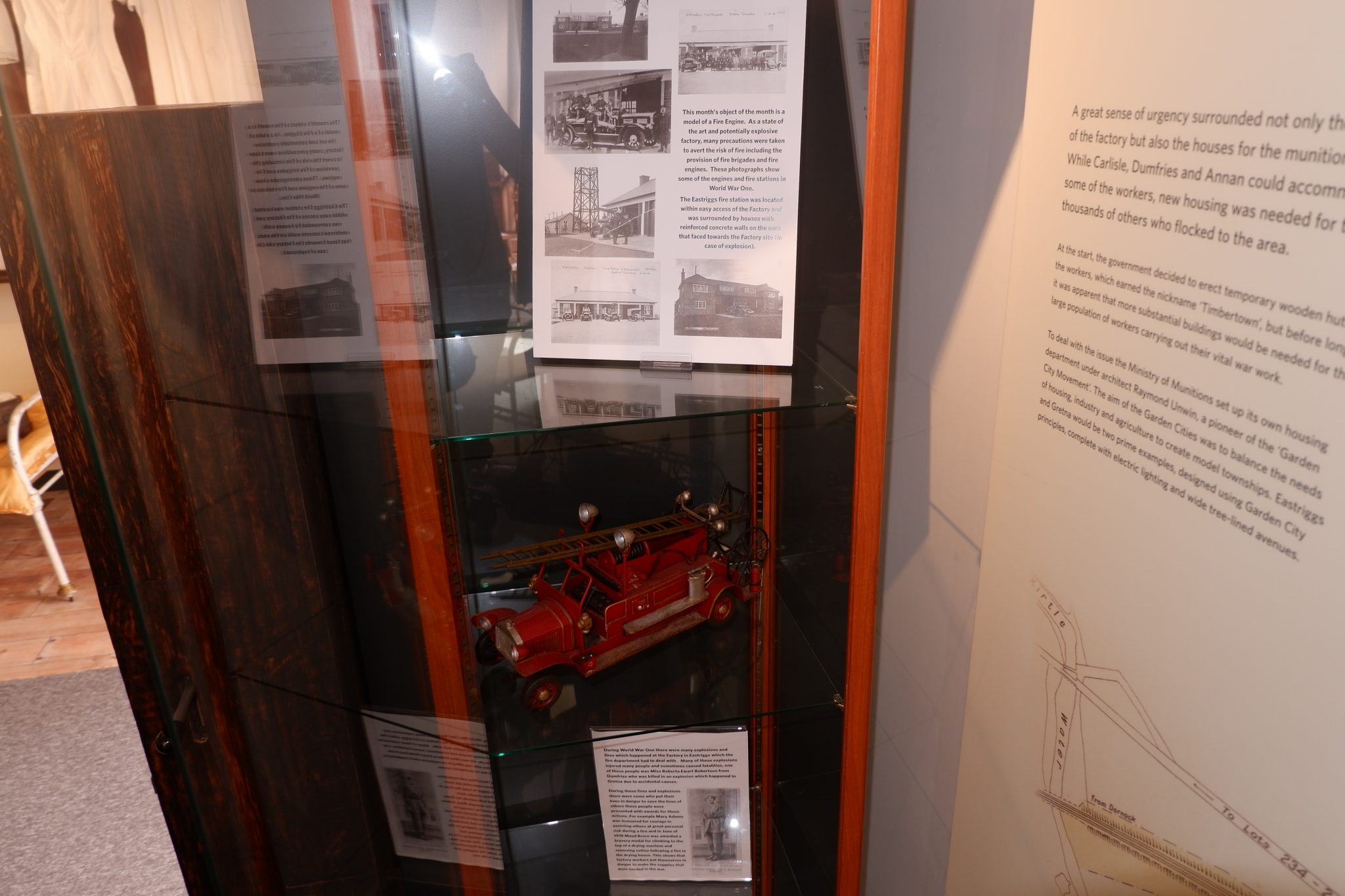 object of the month fire engine