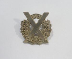 Scottish Horse Badge