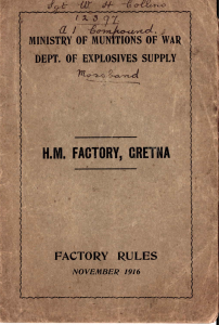 factory rule book