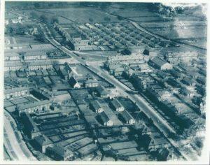 Gretna overhead view WW1