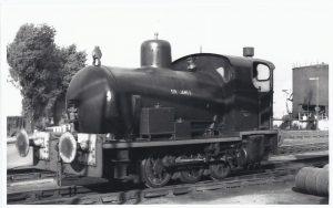 WW1 Fireless Locomotive - Devils Porridge Museum