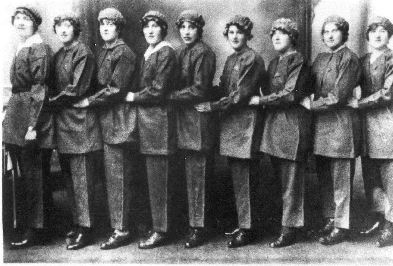 Gretna girls in World War One