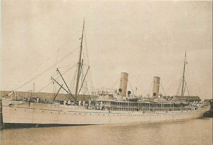 Steam ship Norman